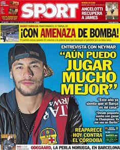 """Aún puedo jugar mucho mejor"" | Sport Neymar Jr, Champions, My Hero, Soccer, Football, Baseball Cards, My Love, Sports, Instagram"