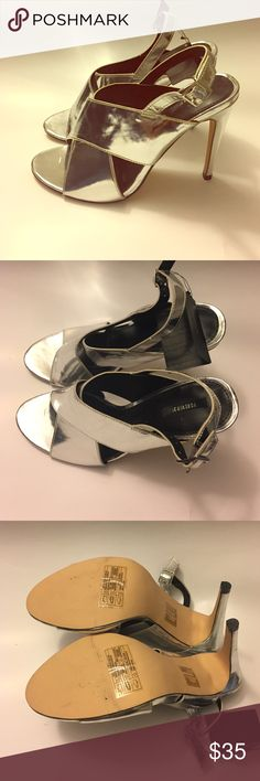 NWT Forever 21 Silver Heel Size 8.5 NWT Forever 21 Silver Heel Size 8.5 Forever 21 Shoes Heels