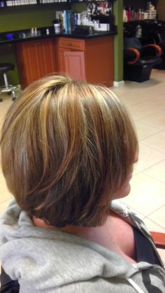 Highlight lowlight.  Love the cut and color