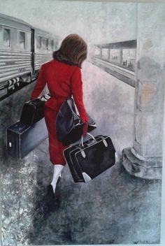 Reisende Frauen VI