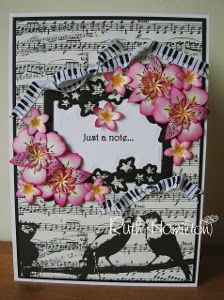 66 best card ideas music images on pinterest music musical cards just a musical note card diy m4hsunfo