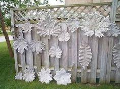 Výsledek obrázku pro dekorace na betonovy plot