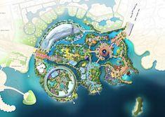 EDG Projects - Island World Shanghai, China