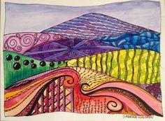 Doodle lanscape