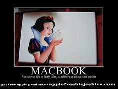 Seen people have tried to fry eggs on their macbooks before. No joke! Apple Memes, Tech Humor, Apple Products, Science And Technology, Fairy Tales, Disney Characters, Fictional Characters, Jokes, Lol