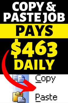Discover step by step guide to copy and paste online job which you can do from home and which pays … Ways To Earn Money, Earn Money From Home, Earn Money Online, Way To Make Money, Money Fast, Online Home Jobs, Making Money From Home, Free Money, Best Online Jobs