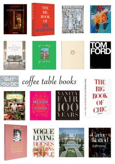 coffee table book favorites Confetti and Stripes