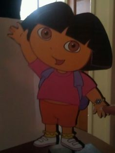 Dora The Explorer Centerpiece/Birthday by Mommyandmee on Etsy, $4.99