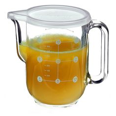 Bormioli Rocco 1 Liter Frigoverre Measure Pitcher - Gracious Home