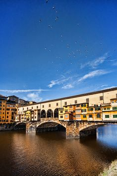 Our apartment overlooked the Ponte Vecchio in Florence...it was amazing!!
