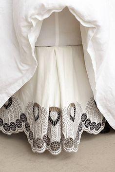 Eyelet Embroidered Bedskirt