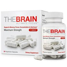 THE BRAIN ULTIMATE FOCUS brain and memory supplement pills are an effective brain supplement made under the guidance of a doctor and designed to support focus, mental clarity, concentration, alertness and memory. This brain food supplement is produced in the USA in a FDA approved facility and to... more details at https://supplements.occupationalhealthandsafetyprofessionals.com/herbal-supplements/chlorophyll/product-review-for-the-brain-ultimate-focus-maximum-strength-brain-s