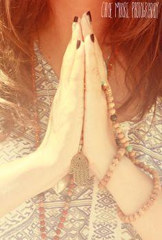 Namaste. Mala beads by Chelsea Welch