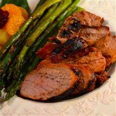 Marinated Grilled Pork Tenderloin Allrecipes.com