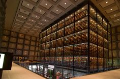 Biblioteca Beinecke para Livros Raros e Manuscritos – New Haven, EUA - Foto: KAALpurush