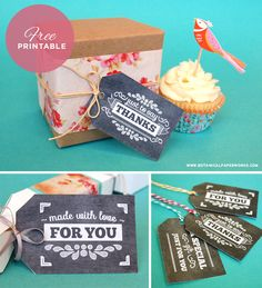 Set your gifts apart from the rest with these delightful Vintage Chalkboard Style Free Printable Gift Tags.