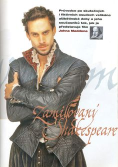 Young William- Shakespeare in love. The stitching on this jacket is exquisite. This would be a knock-out in person. myb