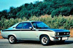 1970 Opel Manta GT Coupe.
