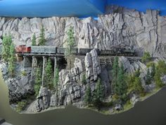 """Foam Rocks, """"Finished"""" scene 