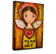 Thank you For my Kind Heart Angel  Original Mixed by FlorLarios, $45.00