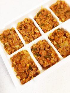 離乳食後期に…豚ひき肉と野菜〜トマト味〜 by ゴンタマコ [クックパッド] 簡単おいしいみんなのレシピが254万品