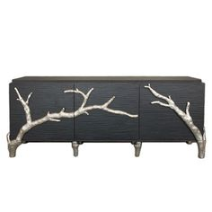 I pinned this Global Views Branch Cabinet from the Noir Boudoir event at Joss and Main!