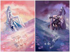 Dawn and Dusk | Fire Emblem: If/Fates - Aqua/Azura