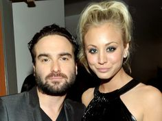 Kaley Cuoco had a two-year relationship with 'Big Bang' costar Johnny Galecki.