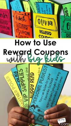 Classroom rewards - How to Use Reward Coupons Classroom Reward Coupons, Classroom Economy, Classroom Behavior Management, 5th Grade Classroom, Middle School Classroom, Science Classroom, Middle School Rewards, Behaviour Management, Classroom Ideas