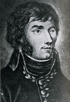 General Jean Joseph Amable Humbert - a passionate French republican who led a failed invasion of Ireland, a ladies' man who romanced Napoleon's sister, an aide to Andrew Jackson at the Battle of New Orleans, a would-be invader of Mexico, and an associate of the pirates Laffite. Died in New Orleans 3 January 1823.