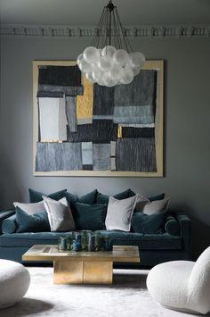 Las Mejores 81 Ideas De Sofás Azules Blue Sofas Sofás Azules Decoración De Unas Disenos De Unas