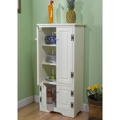 Start On Your Quest For A Clutter Free Home With This Space Saving Tall  Cabinet. Tall Enough To Maximize Vertical Space But Not So Tall That It  Overwhelms, ...