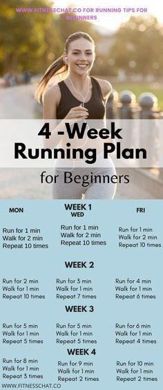 Running Plan For Beginners, How To Start Running, Running Plans, How To Start Exercising, 5k Training For Beginners, At Home Workout Plan, At Home Workouts, Workout Plans, Running Workouts
