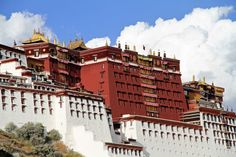 The Red Palace or Potrang Marpo is part of the Potala palace that is completely devoted to religious study and Buddhist prayer