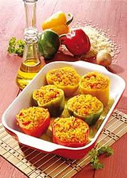 Alkaline Recipe #66: Stuffed Tomatoes And Peppers