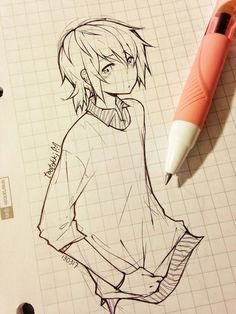 anime drawing - 55 Beautiful Anime Drawings <3 <3