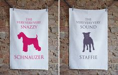 Tea towels from Bottle Green Homes
