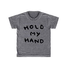 Hold My Hand T Shirt by Kid + Kind - Junior Edition  - 1