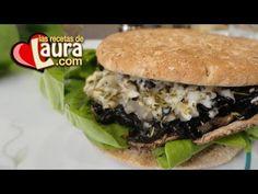 ▶ Sandwich de Portobello Recetas Light Las Recetas de Laura - YouTube