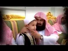 مؤثر الشيخ السديس يبكي من تلاوة طفل  Abderrahman Al Soudais cries for c...