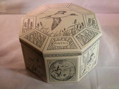 Vintage Handmade Jewelry Box with internal by DanPickedMinerals, $37.75