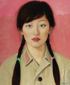 Chinese art painting Qi Zhilong 祁志龙