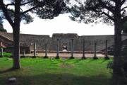 Roman Theatre of Ostia, 2nd c. BCE/plus links to Roman sites