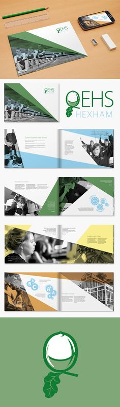 School Prospectus & Logo Design on Behance