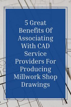 Here are the top 5 benefits of partnering with an experienced cad outsourcing firm to produce high-quality & customized Millwork Shop Drawings. ... .. . #theaecassociates #cadservices #millwork #caddesign #cadoutsourcing