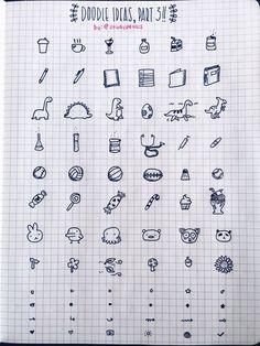Великолепные идеи для оформления конспектов и ежедневников от studypetals (tumblr)  #Schooltime_notebooks