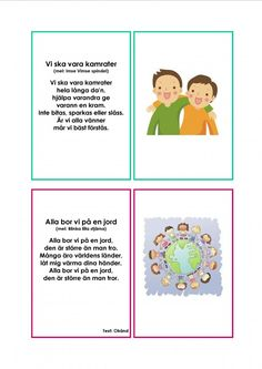 Mariaslekrum - Illustrerade sånger. Sign Language Book, Learn Swedish, Swedish Language, Educational Activities For Kids, Music Classroom, Pre School, Teaching Resources, Kindergarten, Singing