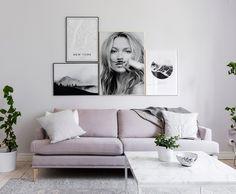 Kate Moss, life is a joke, plakat