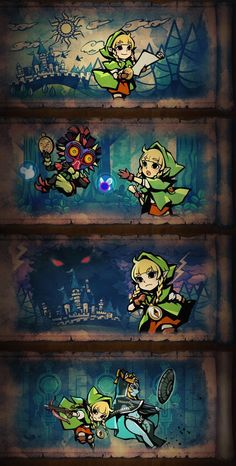 Linkle storyline intro in #HyruleWarriorsLegends #3DS and transferable in #HyruleWarriors #WiiU ~ TBR March 25th, 2016.