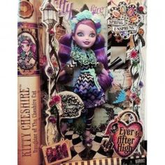 Ever After High Spring Unsprung Kitty Cheshire is based on the character as seen in the new Ever After High movie Spring Unsprung.